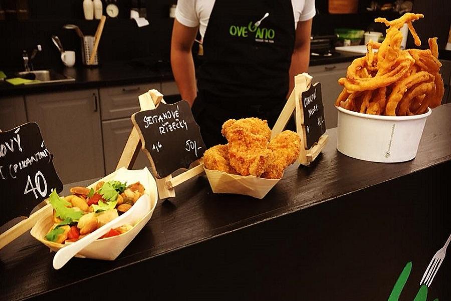 Ovegano tapas English vegan bistro