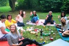 Studentky kurzu zážitkové angličtiny v Brně - pro ženy bez učebnic