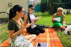 Kurzy zážitkové angličtiny v Brně - makeup workshop