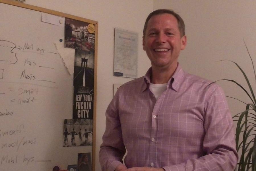 Lektor kurzu zážitkové angličtiny - Glenn Weidner