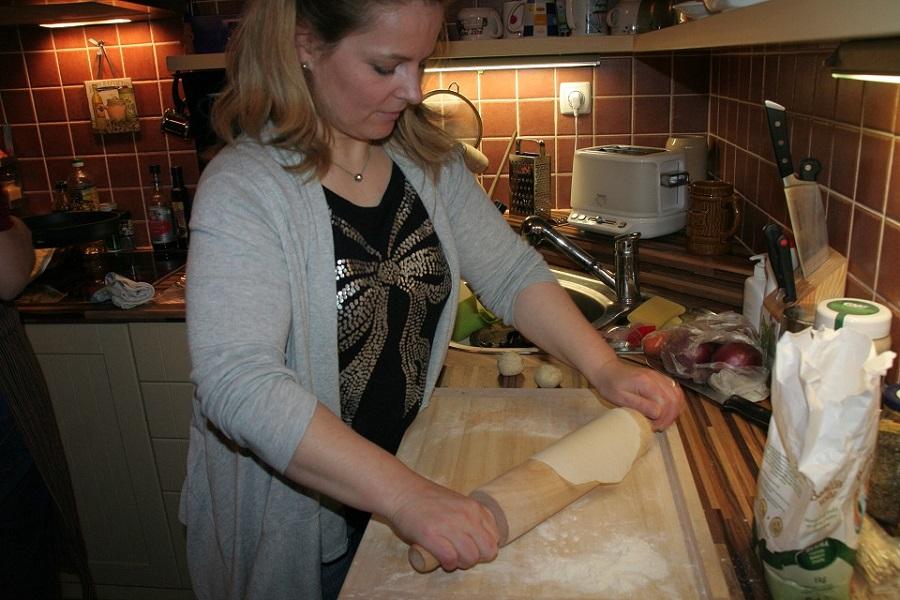 Cooking lesson na kurzu zážitkové Aj