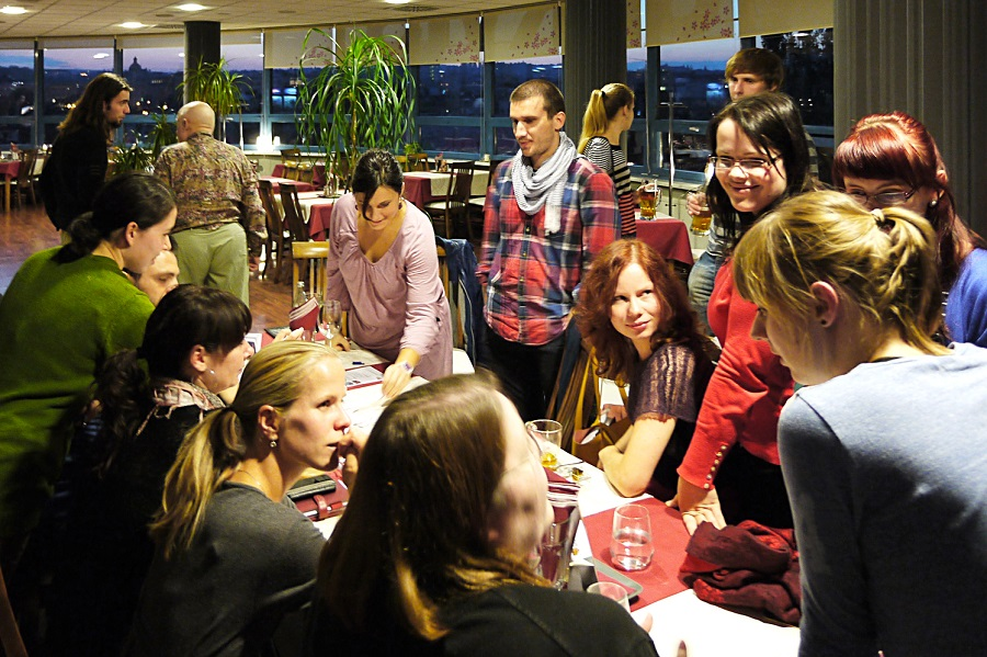 Pub lesson pro studenty kurzu zážitkové angličtiny