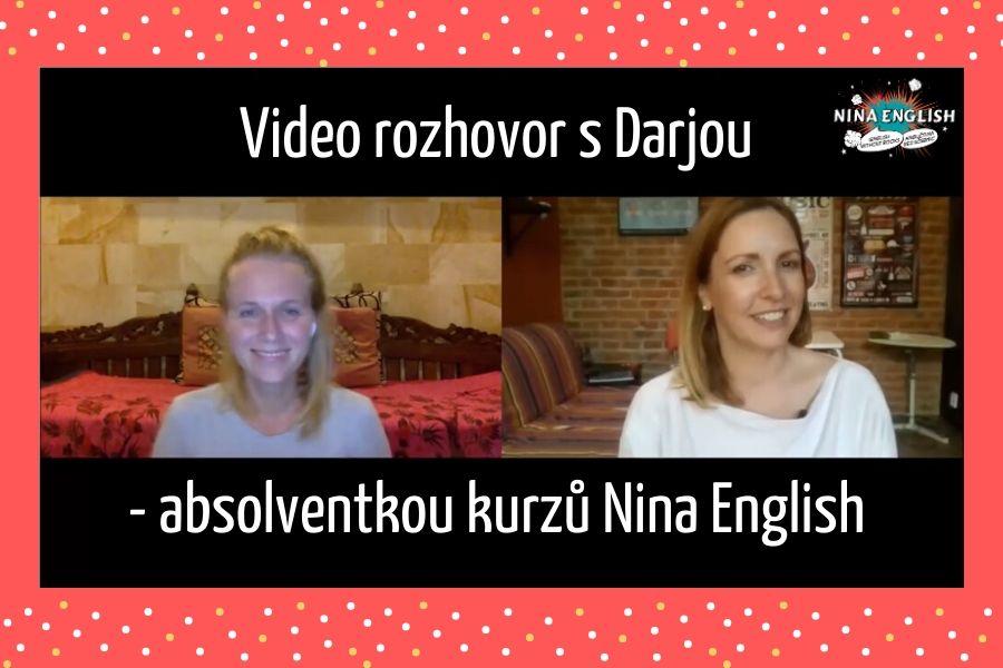Video rozhovor s Darjou – absolventkou Nina English