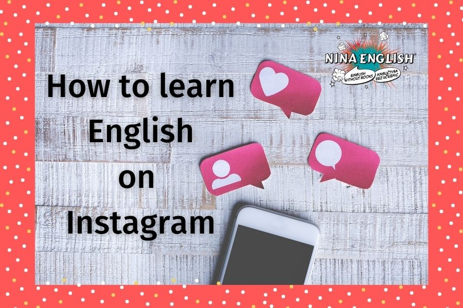 How to learn English on Instagram